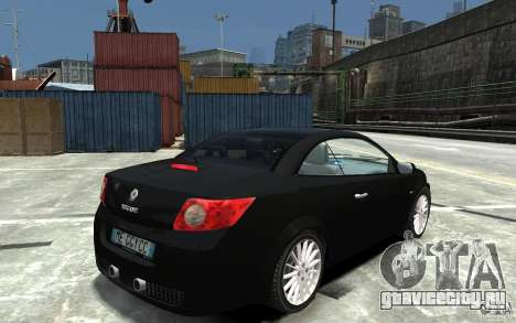 Renault Megane CC Kit RS для GTA 4 вид справа