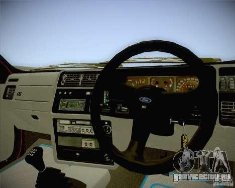 Ford Sierra RS500 Race Edition для GTA San Andreas вид справа