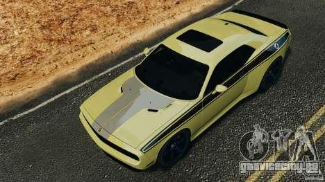 Dodge Rampage Challenger 2011 v1.0 для GTA 4 вид сбоку