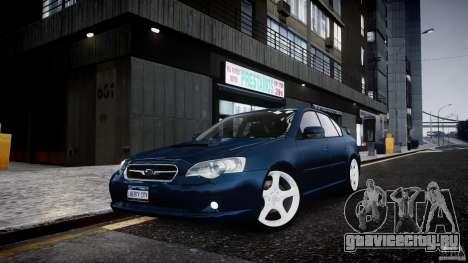 Subaru Legacy B4 GT для GTA 4
