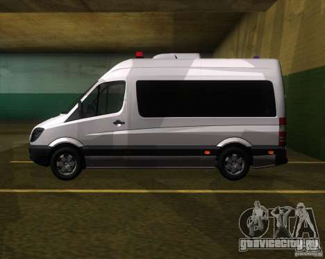 Mercedes-Benz Sprinter 311CDi для GTA San Andreas вид слева