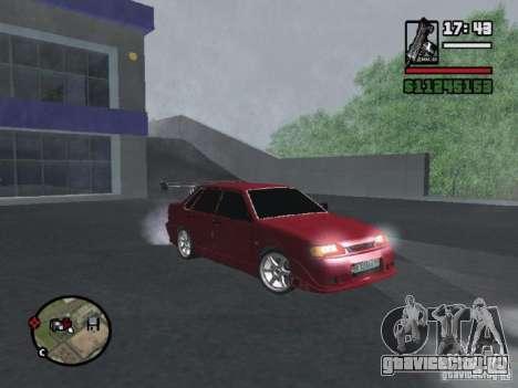 ВАЗ 2115 TUNING для GTA San Andreas