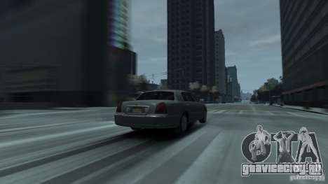 Lincoln Town Car 2003-11 v1.0 для GTA 4 вид сзади слева