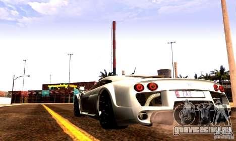 Noble M600 Final для GTA San Andreas вид справа
