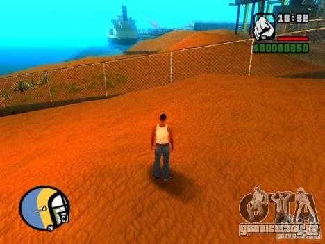 Текстуры района Восточный пляж для GTA San Andreas пятый скриншот