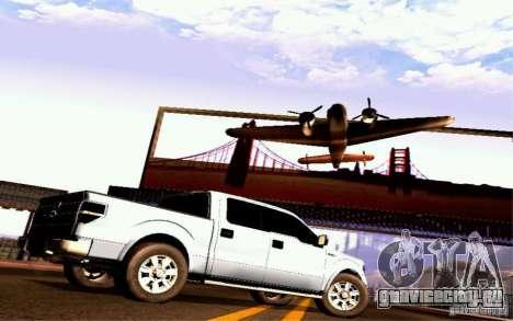 Ford Lobo 2012 для GTA San Andreas вид справа