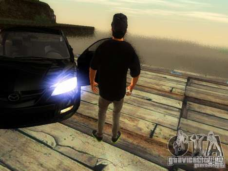 Пацан в FBI для GTA San Andreas четвёртый скриншот