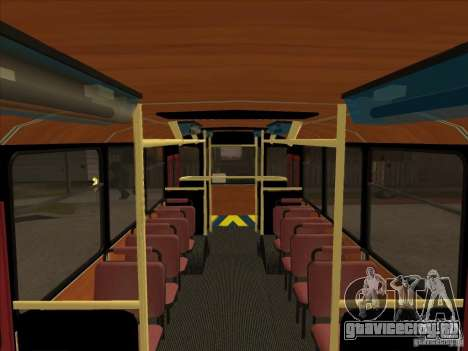 ЛиАЗ 677п для GTA San Andreas вид сзади