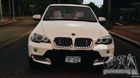BMW X5 xDrive48i Security Plus для GTA 4 вид снизу