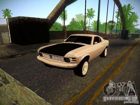 Ford Mustang Boss 429 1970 для GTA San Andreas