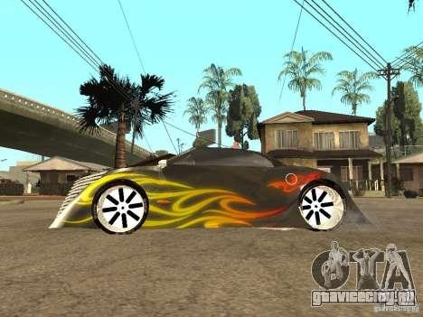 Thunderbold SlapJack для GTA San Andreas вид сверху
