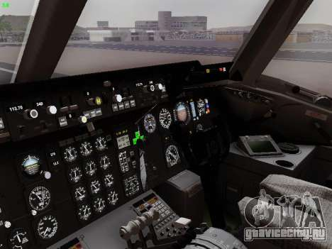 McDonell Douglas DC-10-30 PanAmerican Airways для GTA San Andreas вид сверху