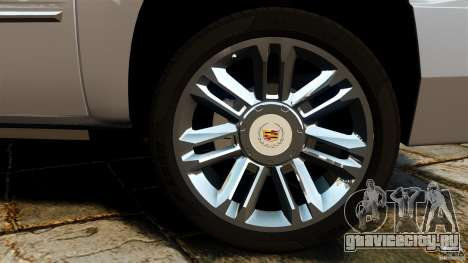 Cadillac Escalade ESV 2012 для GTA 4 вид сбоку