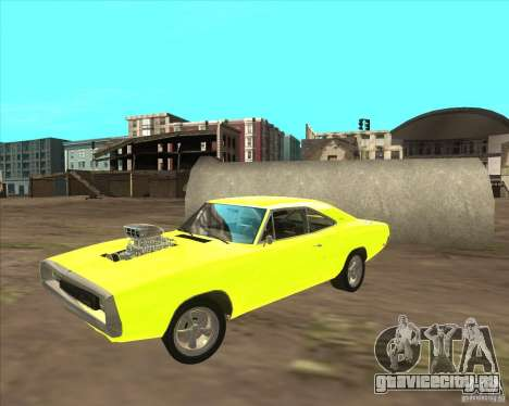 Dodge Charger RT 1970 The Fast and The Furious для GTA San Andreas вид слева