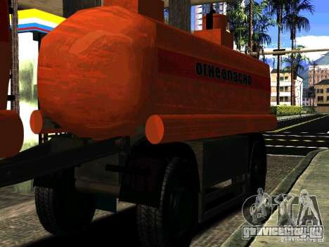 Прицеп к МАЗ  533702 Бензовоз для GTA San Andreas