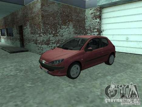 Peugeot 206 HDi 2003 для GTA San Andreas