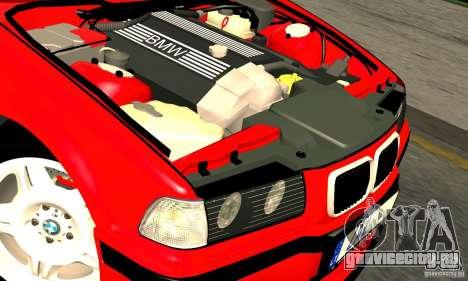 BMW  M3 Е36 для GTA San Andreas вид сверху