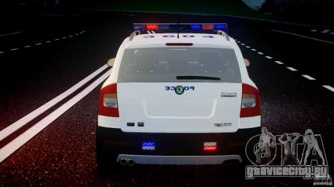 Skoda Octavia Scout NYPD [ELS] для GTA 4 колёса
