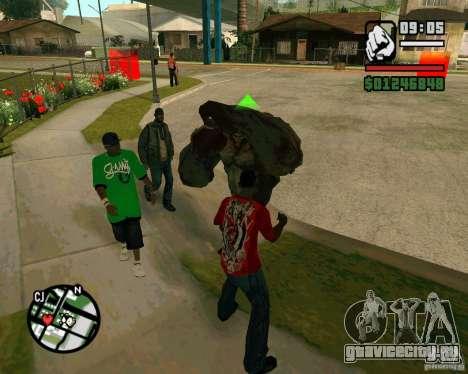 Танк из Left 4 Dead. для GTA San Andreas второй скриншот