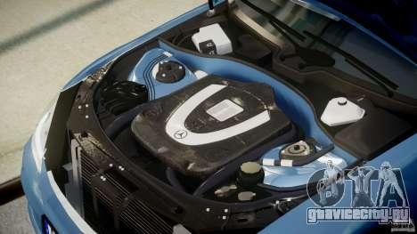 Mercedes-Benz S63 AMG [Final] для GTA 4 вид сверху