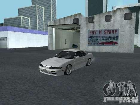 Nissan Skyline R32 Zenki для GTA San Andreas вид слева