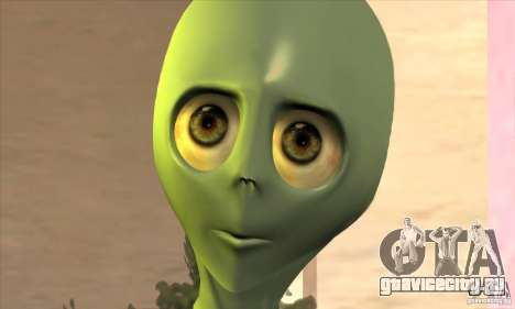 Alien для GTA San Andreas четвёртый скриншот