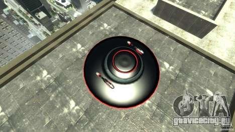 UFO neon ufo red для GTA 4 вид справа
