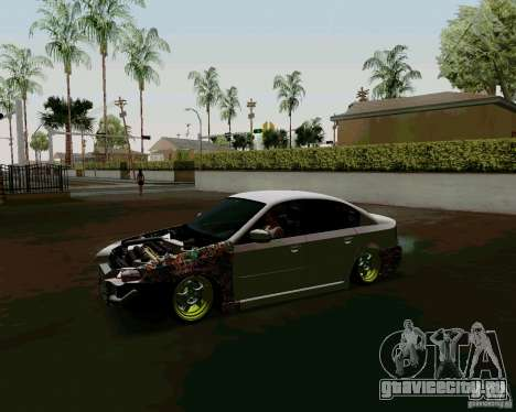 Subaru Legacy JDM для GTA San Andreas вид слева