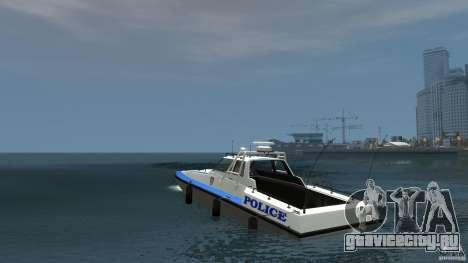 NYPD Predator для GTA 4 вид сзади слева