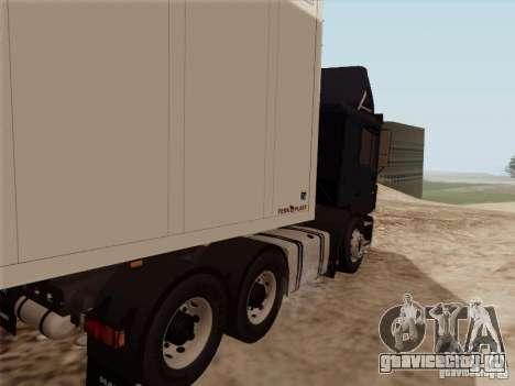 MAN F2000 6x4 для GTA San Andreas вид справа