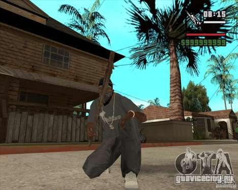 Пак оружия из Fallout New Vegas для GTA San Andreas второй скриншот