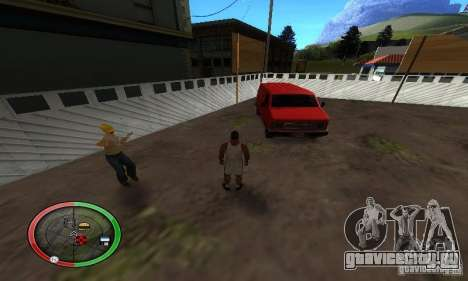 NEW STREET SF MOD для GTA San Andreas шестой скриншот