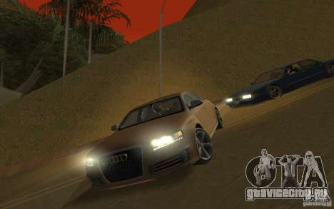 Audi RS6 TT Black Revel для GTA San Andreas
