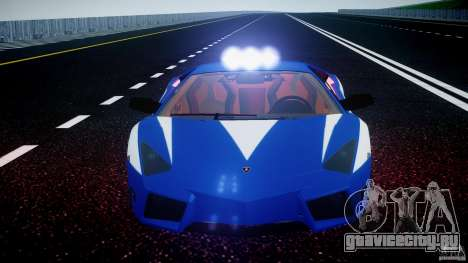 Lamborghini Reventon Polizia Italiana для GTA 4 колёса