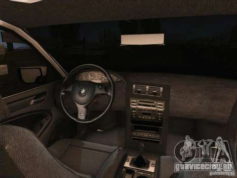 BMW M3 E46 Touring для GTA San Andreas вид сзади