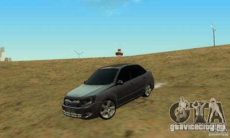 Lada Granta Light Tuning для GTA San Andreas