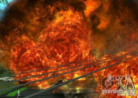 Новые эфекты взрывов для GTA San Andreas седьмой скриншот