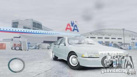 Chevrolet Caprice 1993 для GTA 4 вид справа
