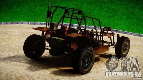 Half Life 2 buggy для GTA 4 вид сзади слева