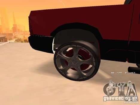 Dodge Ram 2010 для GTA San Andreas вид справа