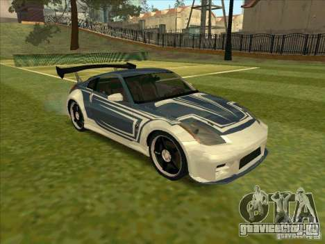Nissan 350Z Chay from FnF 3 для GTA San Andreas