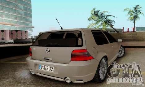 Volkswagen Golf GTI R32 для GTA San Andreas вид слева