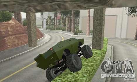 Trail Monster V.1.0 для GTA San Andreas вид сбоку