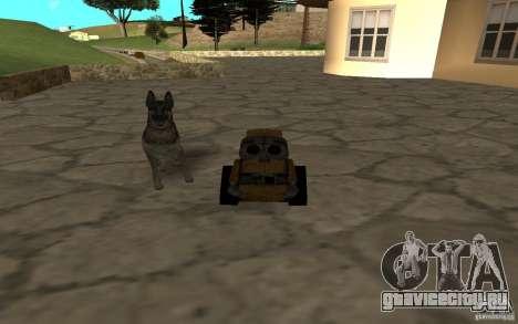 Валли для GTA San Andreas вид сзади слева