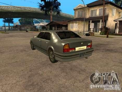 HD Sentinel для GTA San Andreas вид слева