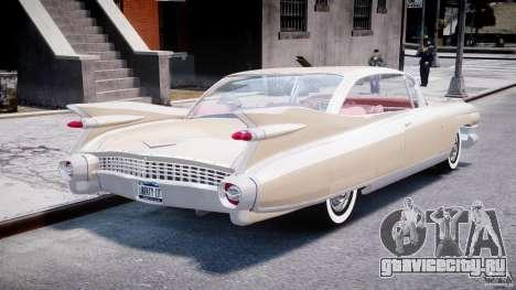 Cadillac Eldorado 1959 (Lowered) для GTA 4 вид сбоку