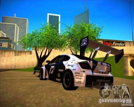 Scion tC для GTA San Andreas вид слева
