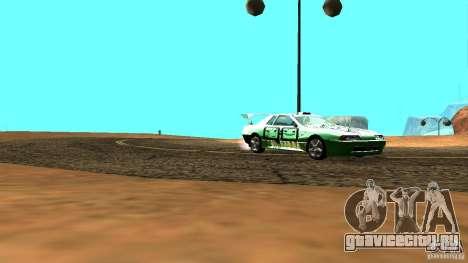 Elegy v0.2 для GTA San Andreas вид сзади слева