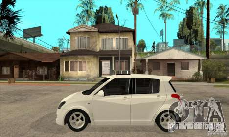Suzuki Swift 4x4 CebeL Modifiye для GTA San Andreas вид слева