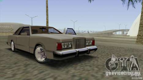 Virgo Continental для GTA San Andreas салон
